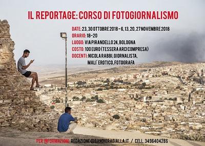 Il reportage: corso di fotogiornalismo